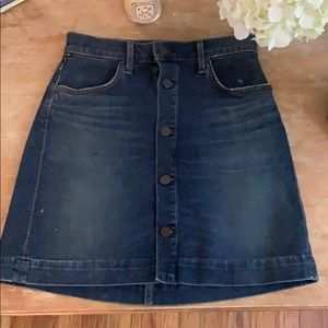 Citizens of Humanity Jean Skirt (Size 24)
